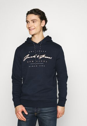 JORMARIUSS HOOD/SWEAT  - Sudadera - navy blazer