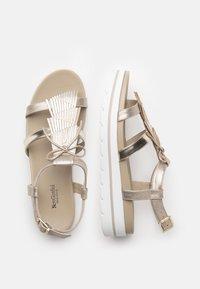 NeroGiardini - Platform sandals - nut - 3