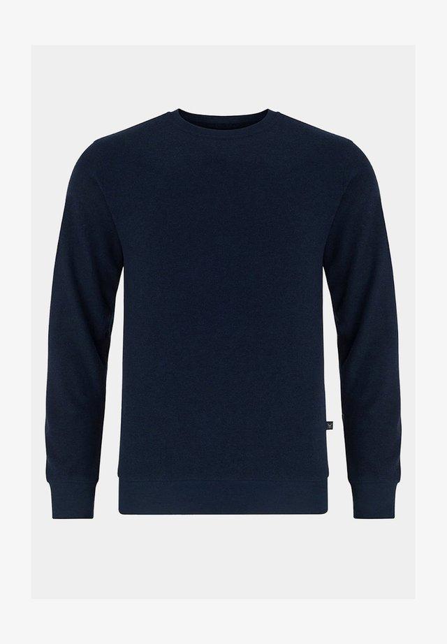 Sweter - granatowy