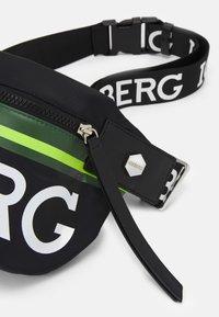 Iceberg - BUM BAG UNISEX - Across body bag - black - 3