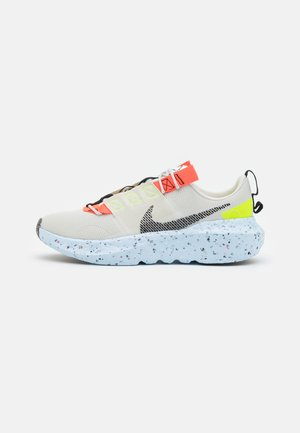 NIKE CRATER IMPACT - Sneaker low - light bone/black/stone/bright crimson/chambray blue