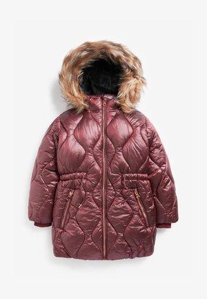 HIGH SHINE  - Płaszcz zimowy - berry