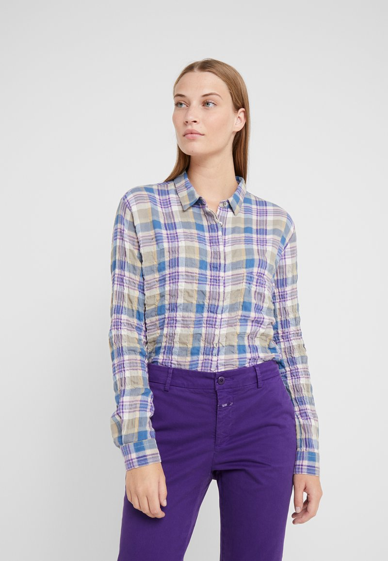 CLOSED - HAILEY - Button-down blouse - multi-coloured