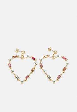 PCLAMIS EARRINGS - Earrings - gold-coloured/multi