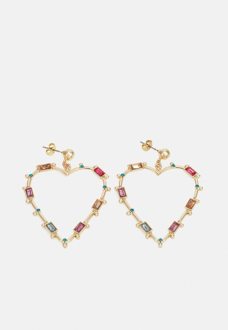 Pieces - PCLAMIS EARRINGS - Earrings - gold-coloured/multi