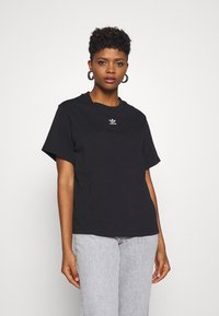 adidas Originals - T-SHIRT - T-shirt print - black - 0