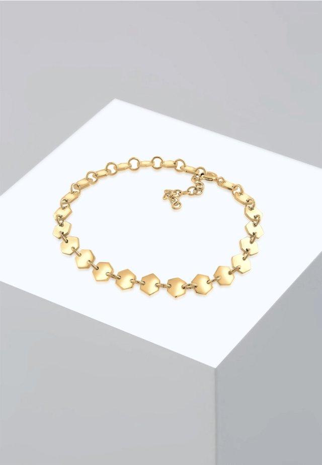 HEXAGON  - Armband - gold-coloured