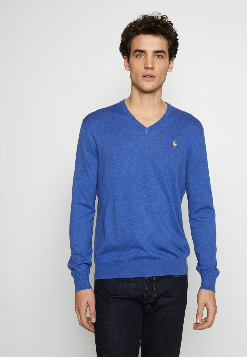 Polo Ralph Lauren - LONG SLEEVE - Strickpullover - blue