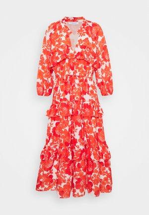 BERENICE PRINT - Vapaa-ajan mekko - coral