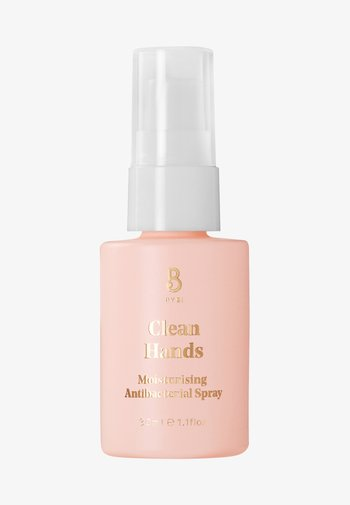 CLEAN HANDS ANTIBACTERIAL SPRAY - Liquid soap - -