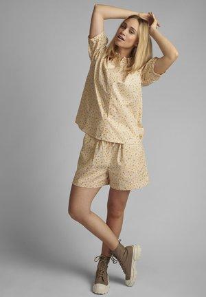 Button-down blouse - brazillian sand