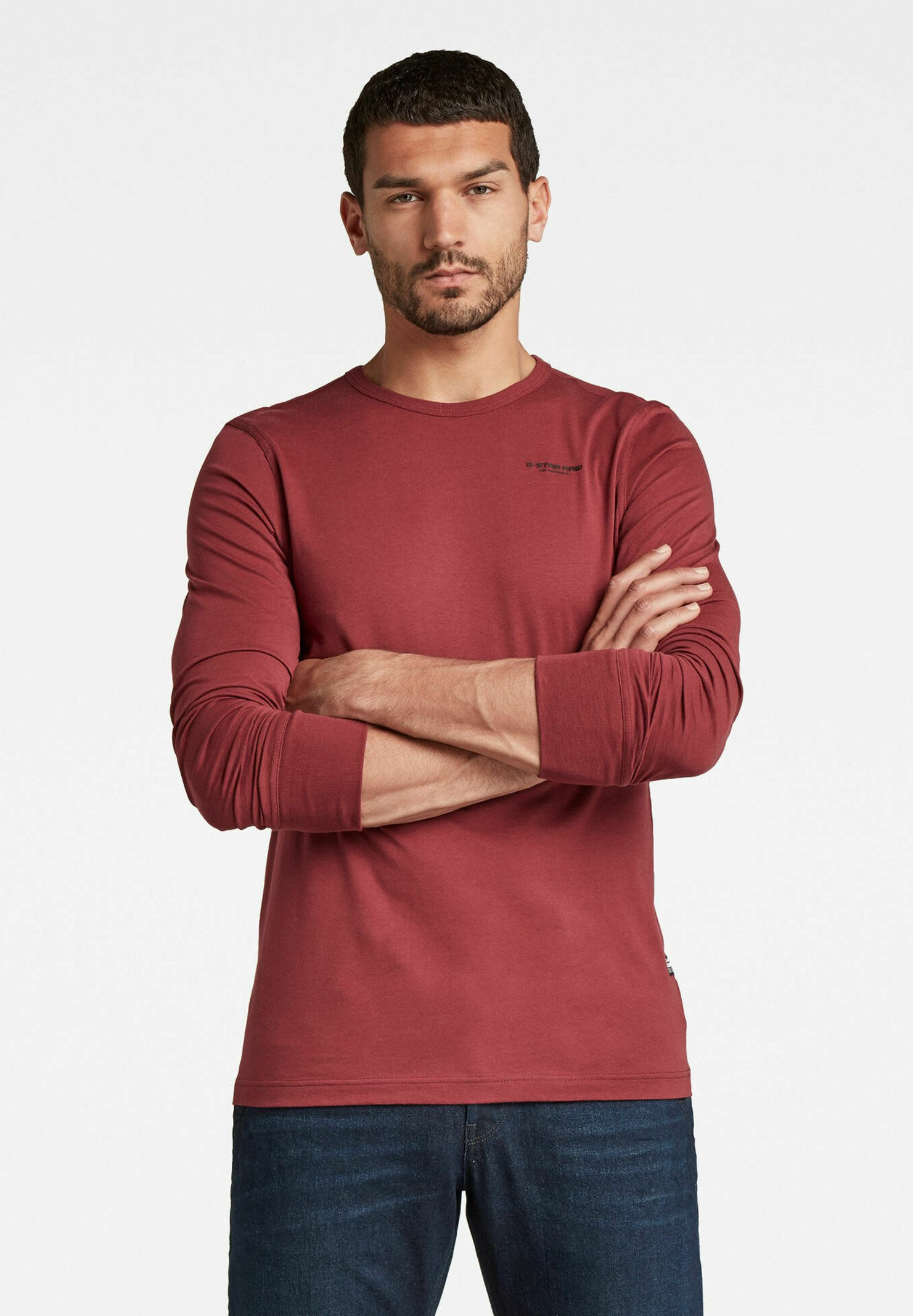 Uomo BASE R - Maglietta a manica lunga