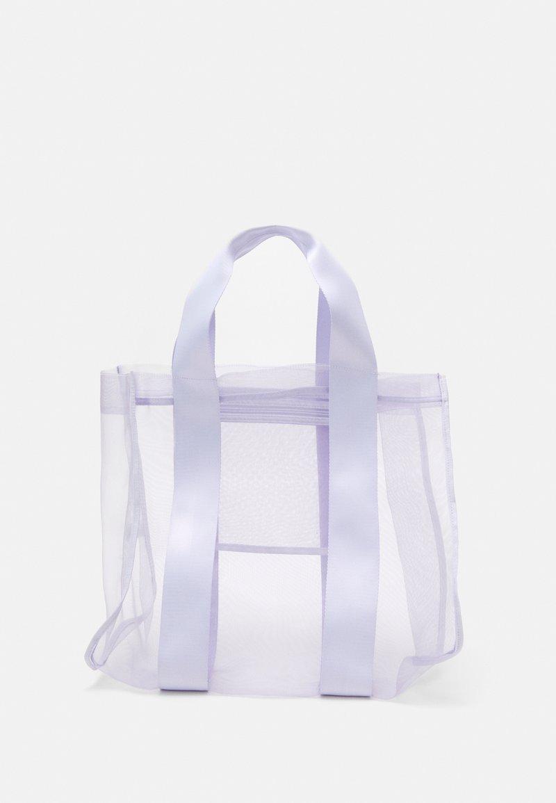 Weekday - CARLA TOTEBAG - Tote bag - purple