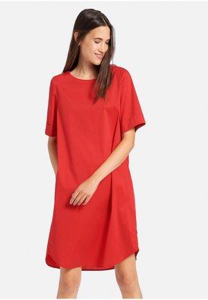 Korte jurk - rot