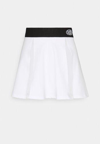 JADEN SKIRT - Miniskjørt - white/black