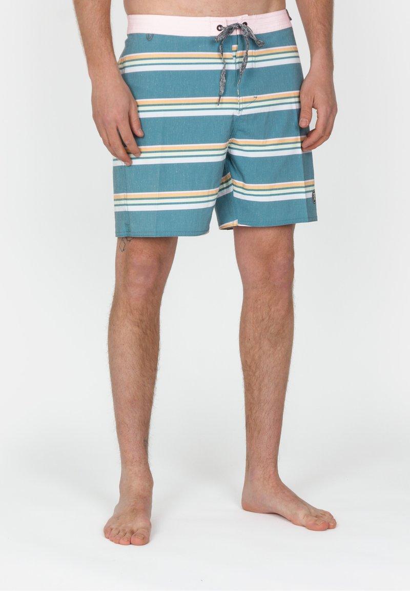 Roark - CHILLER KASBAHS - Swimming shorts - marine blue