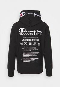 Champion Reverse Weave - HOODED LABELS - Sweatshirt - black - 1