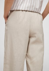QS by s.Oliver - Trousers - beige - 4