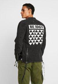 Be Edgy - BETRAVER - Denim jacket - black used - 2