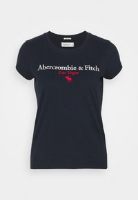 LAS VEGAS DESTINATION - T-shirt z nadrukiem - navy
