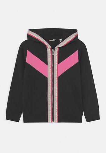JUNIOR HOODED ACTIVE  - Zip-up sweatshirt - jet black