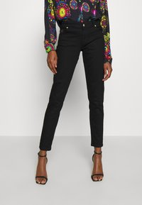 Versace Jeans Couture - Jeans Skinny Fit - black denim - 0
