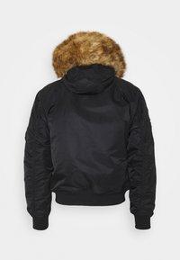 Alpha Industries - HOODED ARCTIC - Winter jacket - black - 1