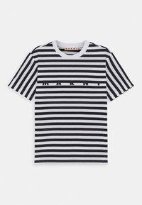 Marni - MAGLIETTA UNISEX - Print T-shirt - blue navy - 0