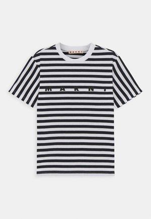 MAGLIETTA UNISEX - Print T-shirt - blue navy