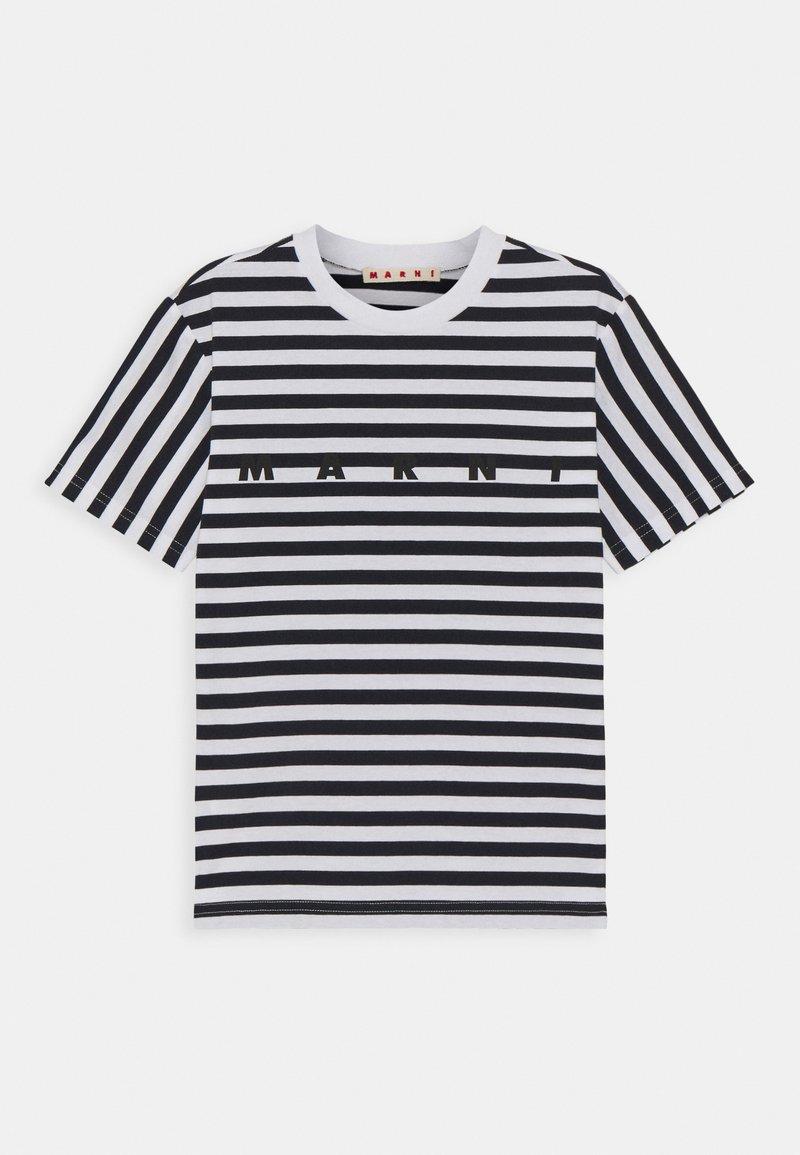 Marni - MAGLIETTA UNISEX - Print T-shirt - blue navy