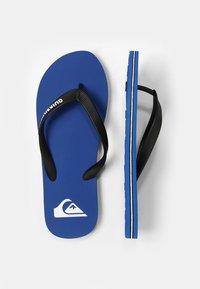 Quiksilver - MOLOKAI - Pool shoes - black/blue - 1