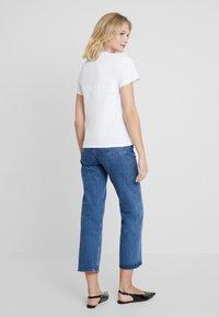 mint&berry - T-shirts med print - white/blue - 2