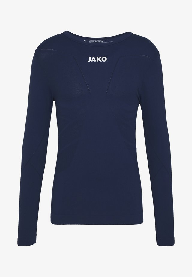 LONGSLEEVE COMFORT - Long sleeved top - navy