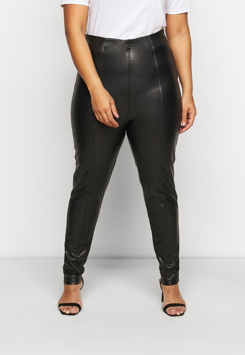 New Look Curves - Leggings - Trousers - black