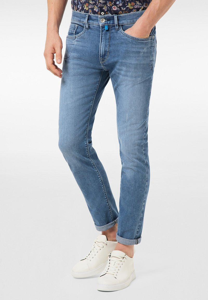 Pierre Cardin - LYON - Jeans Tapered Fit - blue