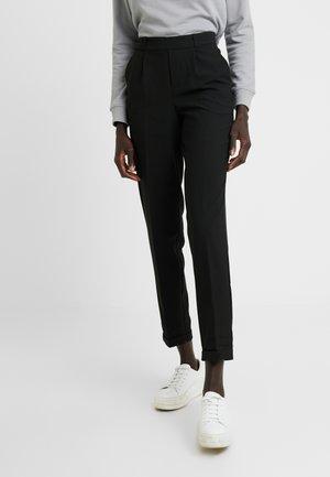 ONLFOCUS PANT MAT  - Trousers - black