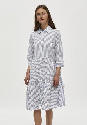 DALINA  - Shirt dress - black iris striped