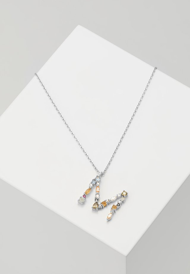 LETTER NECKLACE - Collana - silver-coloured
