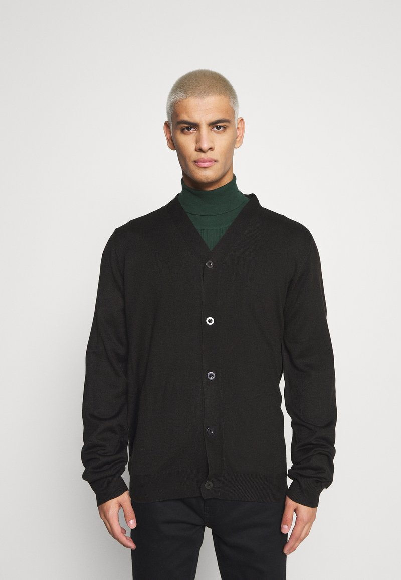 Newport Bay Sailing Club - CARIGAN - Cardigan - black