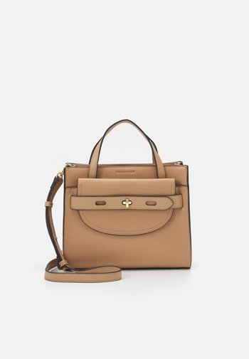 BECKY STRUCTURED BAG - Tote bag - tan