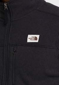 The North Face - GORDON LYONS FULL ZIP - Kurtka z polaru - black heather - 5