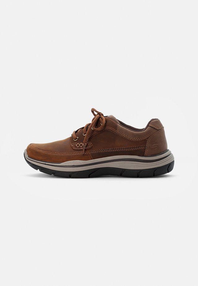 EXPECTED RAYMER - Lace-ups - dark brown leather