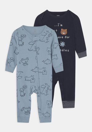 2 PACK - Pyjamas - dark blue/blue