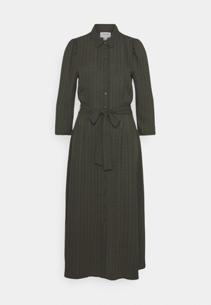 VMNOVA 3/4 SHIRT DRESS  - Skjortekjole - peat