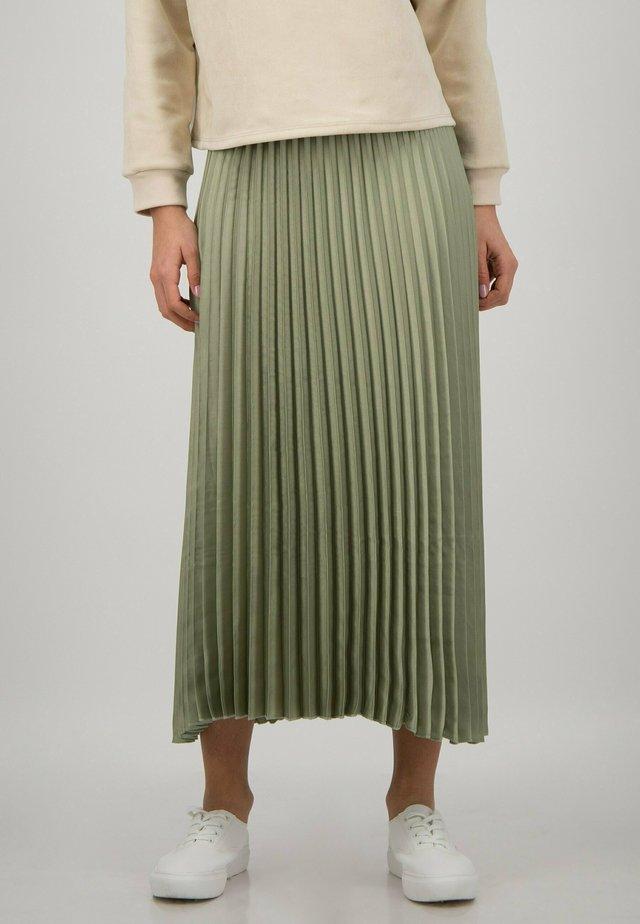 A-line skirt - mint green