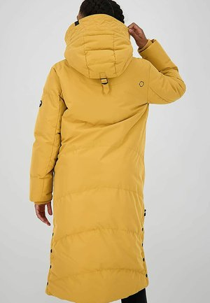 Winter coat - gelb