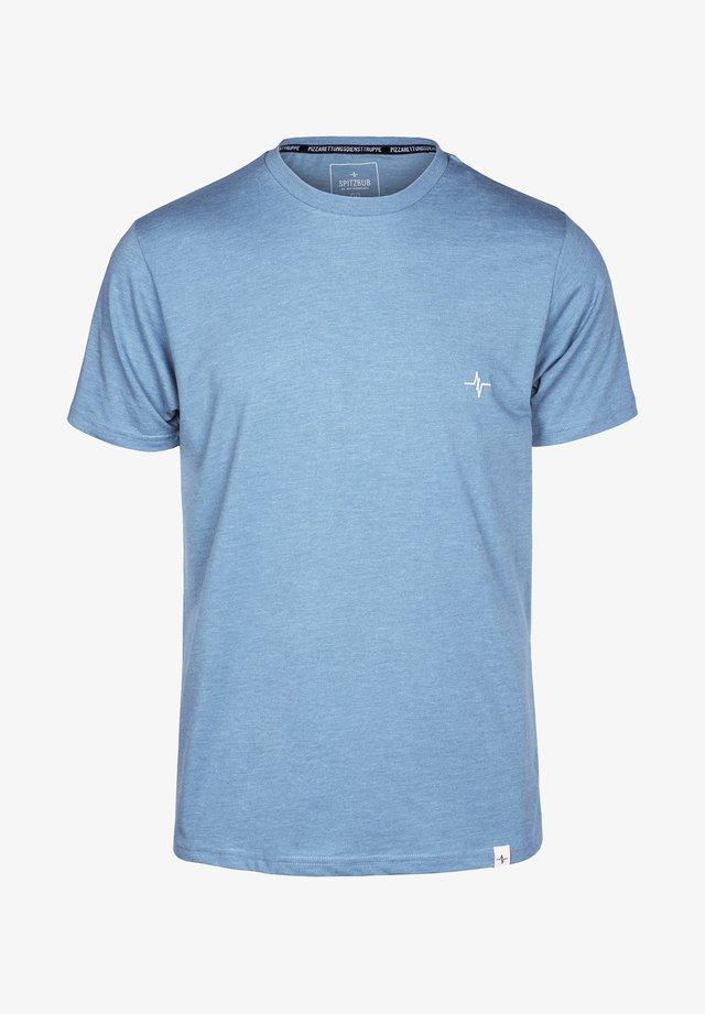NORBERT - Basic T-shirt - blue
