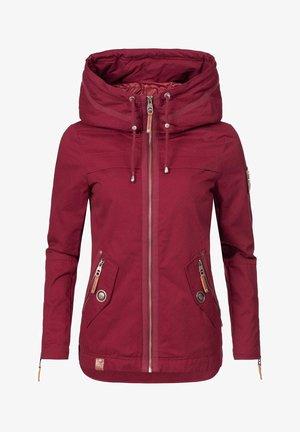 Light jacket - rot dots