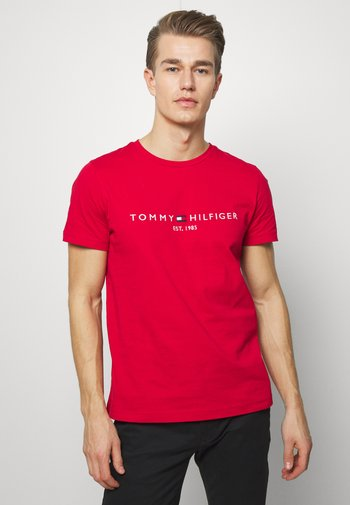 LOGO TEE - T-shirt imprimé - red