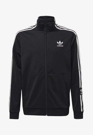 TRACK TOP - veste en sweat zippée - black
